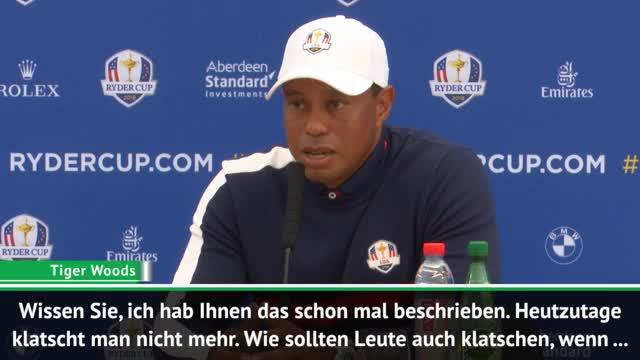 Tiger Woods über Handysucht des Publikums