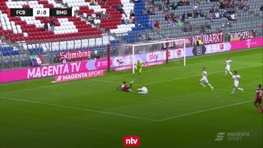 Highlights: FC Bayern verliert gegen Gladbach