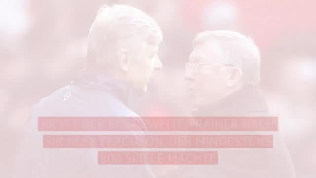 800 PL-Spiele! Kollegen zollen Wenger Respekt