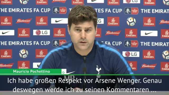 """Pochettino über Wenger: """"Hat Fehler gemacht"""""""