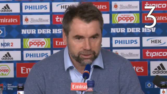 Phrasen-Bingo mit HSV-Trainer Hollerbach
