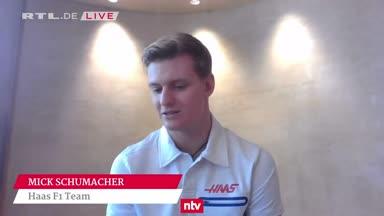 """Mick Schumacher über neuen Haas-Boliden: """"Sehr biestig"""""""