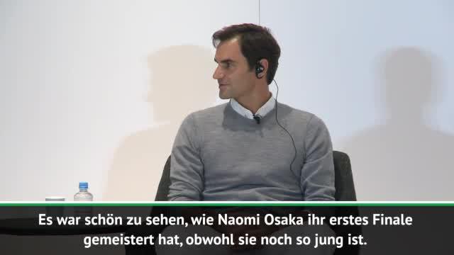 """Federer über Osaka: """"Eines dieser Märchen"""""""