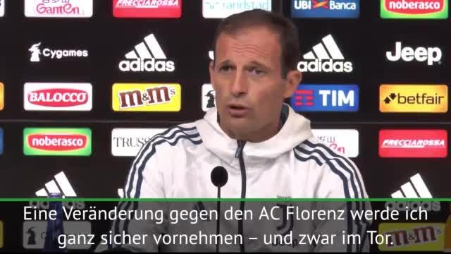 "Allegri: ""Szczesny wird Buffons Nachfolger"""