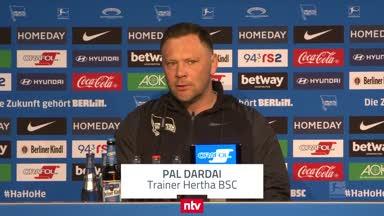Dárdai verteilt Kompliment an Hertha-Schützlinge