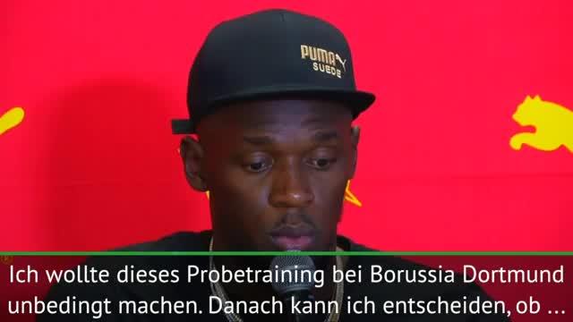 """Bolt: Probetraining beim BVB? """"Muss schauen"""""""
