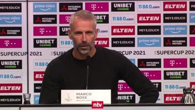 Das sagen Rose und Nagelsmann nach dem Supercup