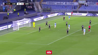 Highlights: Lazio feiert nach Torwart-Bock