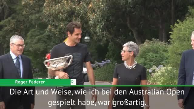 Federer optimistisch: Werde tolle Saison spielen