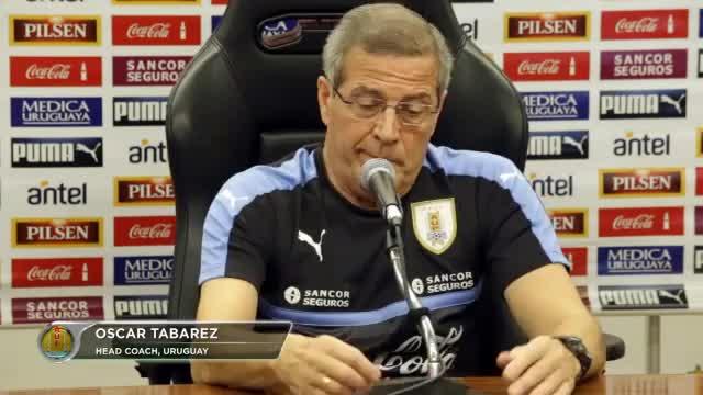 """Uruguay: Coach zu Suarez: """"Zeit bringt Reife"""""""