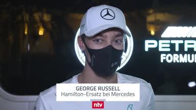 So erlebte George Russell seinen ersten Tag im Mercedes