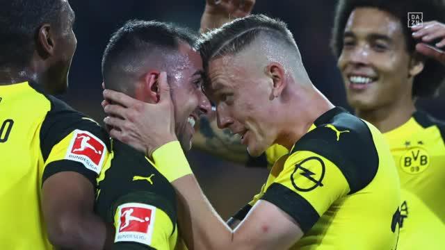 Favre über Alcacer: Dämpfer nach Debüt-Tor  für BVB