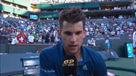 """Indian Wells: Thiem schlägt Federer: """"Surreal!"""""""