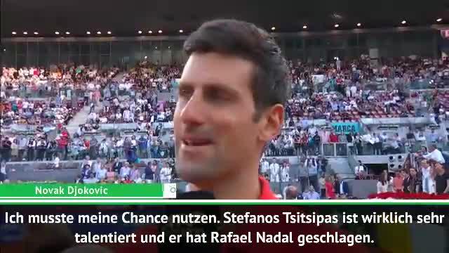 """Djokovic: """"Ein großer Sieg für mich"""""""