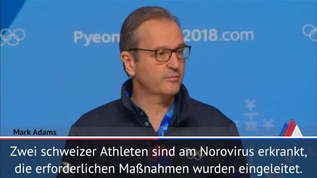 Olympia: Norovirus bei Schweizer Athleten