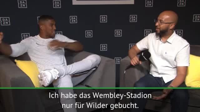 """Boxen: Joshua: """"Wembley nur für Wilder gebucht"""""""