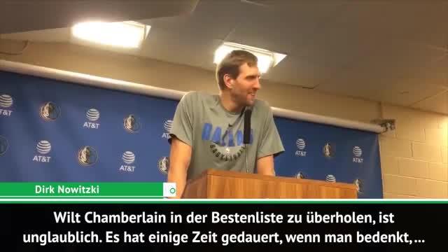 """Nowitzki nach Meilenstein: """"Habe an mir gezweifelt"""""""
