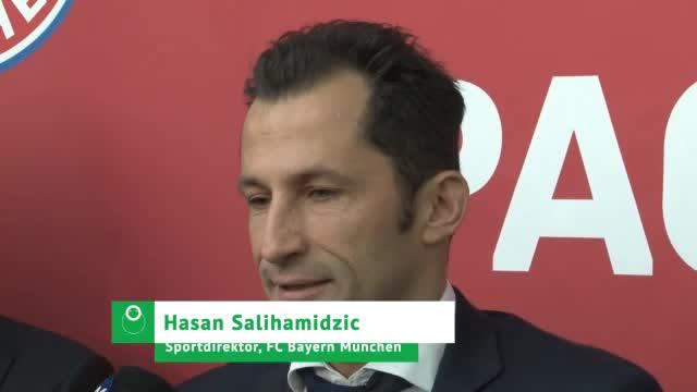 "Salihamidzic fordert: ""Heißes Herz, kühler Kopf"""