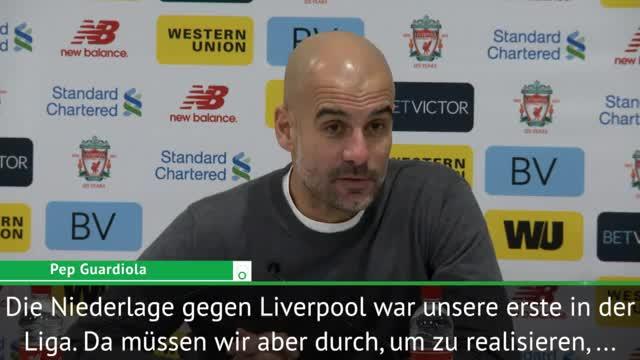 """Guardiola: """"Fußball ist unberechenbar"""""""