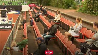 Vorbild für den Fußball? Tennis-Turnier mit Zuschauern