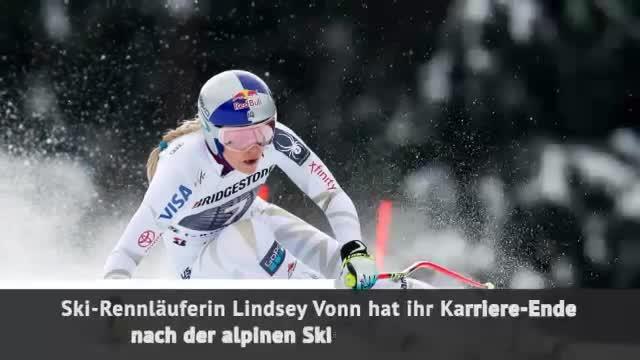 Ski-Star Lindsey Vonn verkündet Karriere-Ende