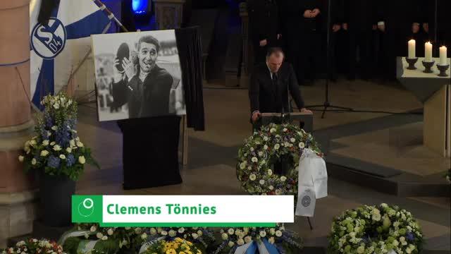 Tönnies und Stevens: Bewegende Worte für Assauer