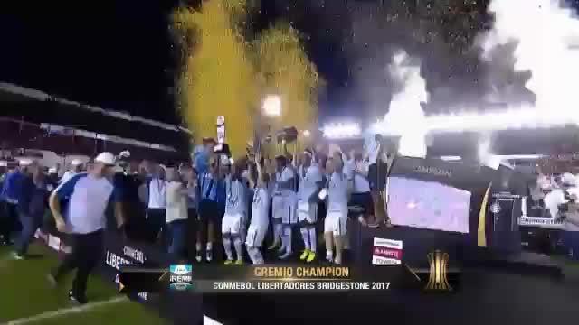 Copa Libertadores: Gremio holt dritten Titel