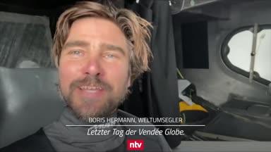 Nach 80 Tagen um die Welt: Boris Herrmann hat das Ziel vor Augen