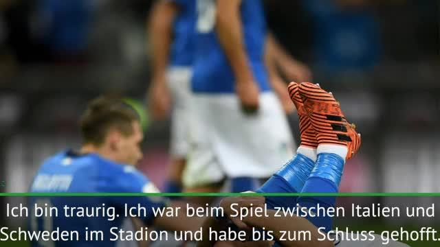 """Maldini: WM ohne Italien? """"Fußball-Tragödie"""""""