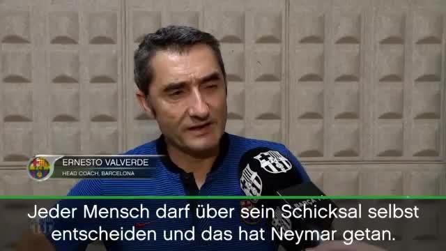 """Barcelona-Coach: """"Neymar hat sein Schicksal bestimmt"""""""