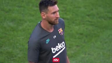 Messi vor dem Barca-Abflug - Fans demonstrieren