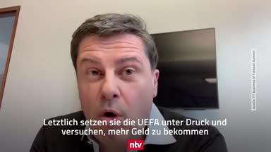 Heftige Kritik an Top-Klubs von DFL-Boss Seifert