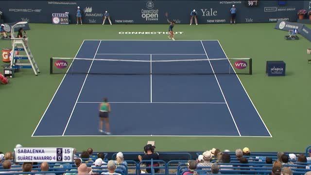 Sabalenka holt ersten WTA-Titel