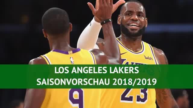 LeBron und Co.: Die 'neuen' Lakers greifen an