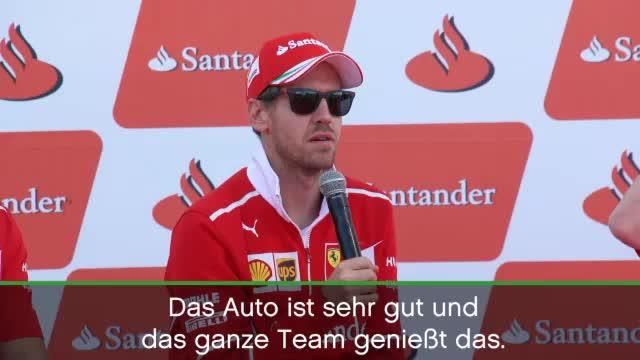 """Vettel: """"Haben wieder ein schnelles Auto"""""""