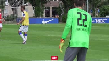 Trainingsauftakt bei Hertha: 374 Millionen Euro für Europa