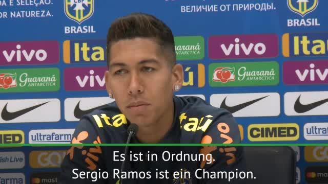 """Firmino: Sergio Ramos' Aussagen """"idiotisch"""""""