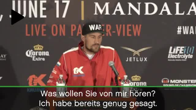 Kovalev haut ab! Blitz-PK vor Ward-Fight