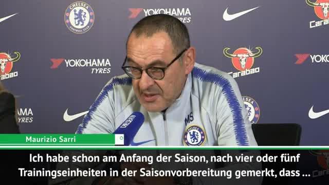 """Sarri lobt: """"Hudson-Odoi bereit für Startelf"""""""