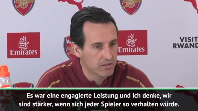 "Emery lobt Özil: ""Stärker, wenn jeder so wäre"""