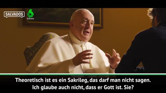 """Papst Franziskus: """"Messi ist nicht Gott"""""""