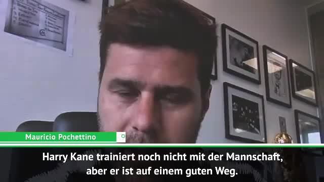 """Pochettino vor CL-Finale: Kane """"auf gutem Weg"""""""
