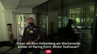 "Szafnauer über Hülkenberg: ""Großartigen Job gemacht!"""