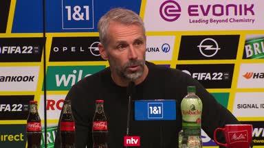 """Marco Rose mit BVB-Auftritt """"zufrieden"""""""