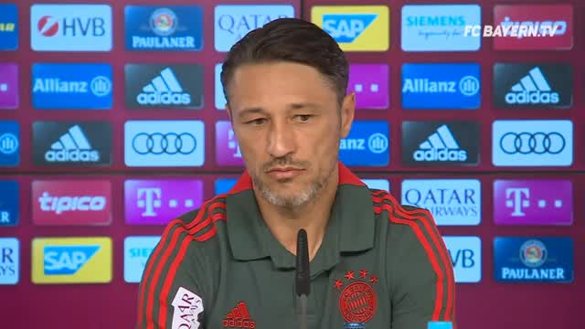 Kovac über Rudy, Lewandowski und Transfers
