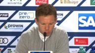 """Nagelsmann nach 1:4: """"Baumann nicht der Grund"""""""