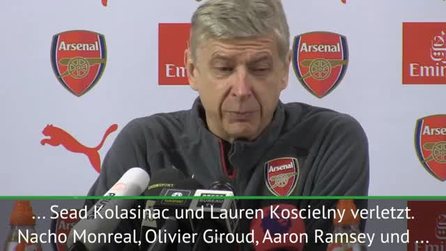 Wenger in Sorge: Kolasinac fehlt, Özil fraglich
