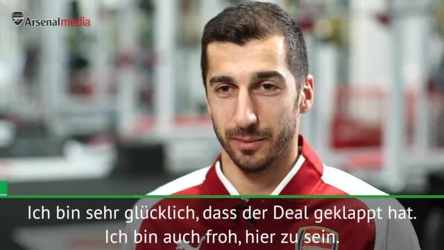 "Mkhitaryan: Arsenal ""war immer mein Traum"""