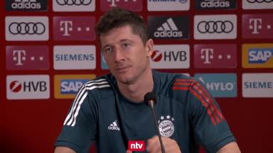 """Lewandowski ehrlich: """"Noch nicht unser bester Fußball"""""""