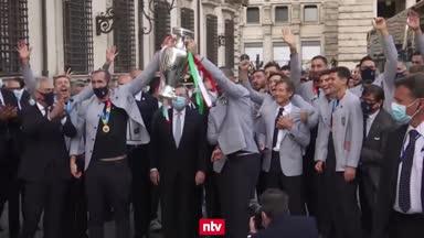 Italien empfängt seine EM-Helden